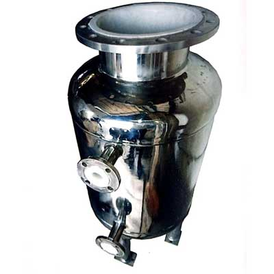 cGMP SS 304 PVDF/ETFE Roto Lined Receiver Tank manufacturer, supplier, and exporter in India