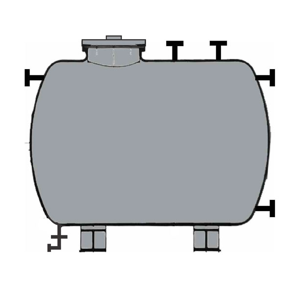 Lined Horizontal Storage Tanks and MLR Tanks Manufacturers and Suppliers India