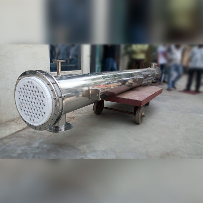 PFA Coated Aluminium and SS 316 Shell & Tube Heat Exchanger Manufacturers and Suppliers in India