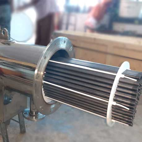 Silicon Carbide Shell and Tube Heat Exchangers Manufacturers and Suppliers in Gujarat, India